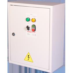 Шкафы управления вентилятором и клапаном